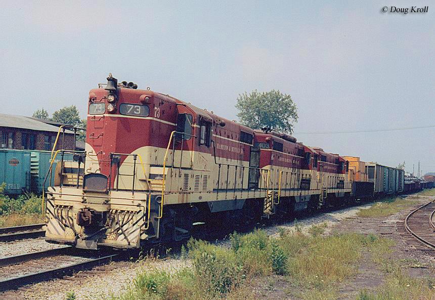 Toronto Hamilton Amp Buffalo Railway