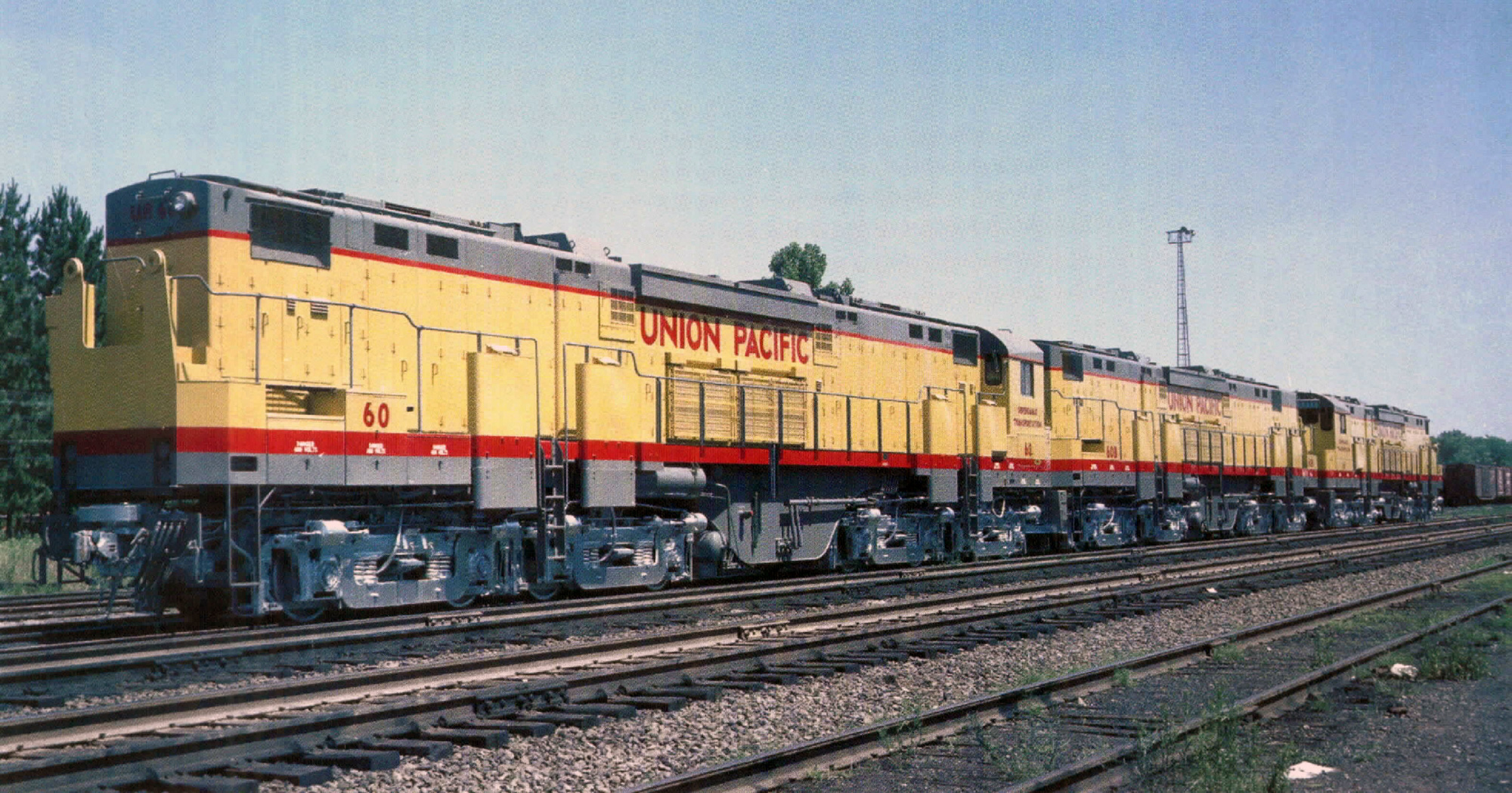 Alco C855 on electric field units