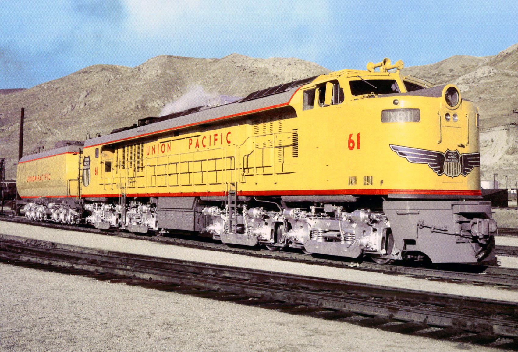 The Union Pacific s Gas Turbine Lo otive Fleet GTELs