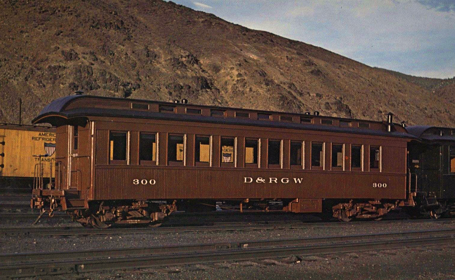 "Passenger Train Cars, ""Varnish"""