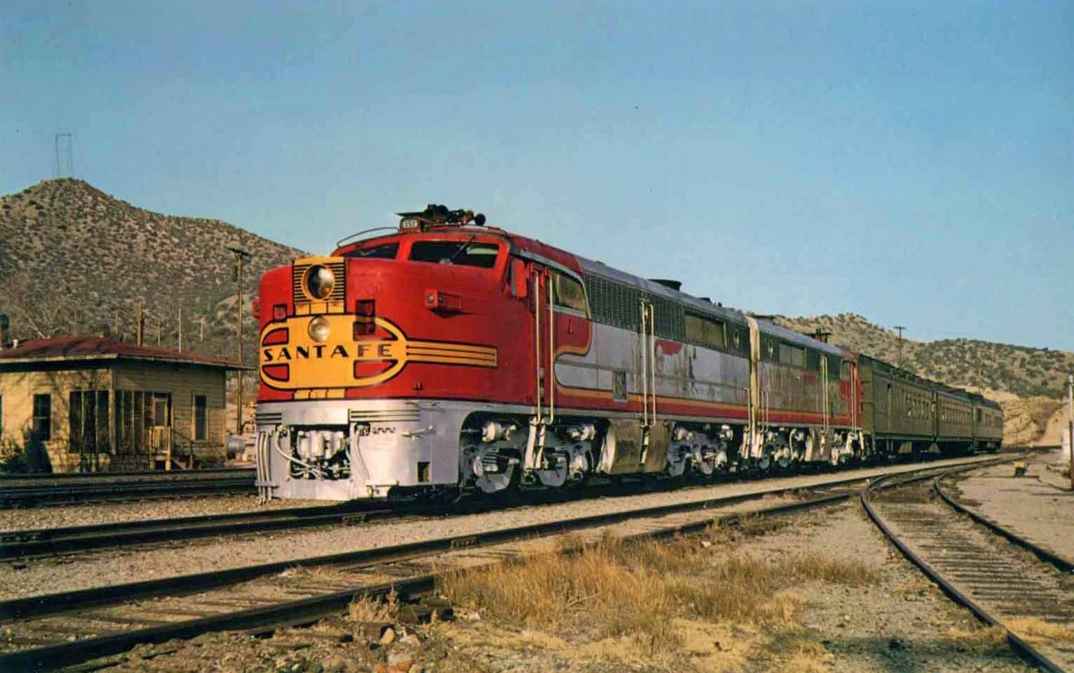 the santa fe s classic warbon  livery