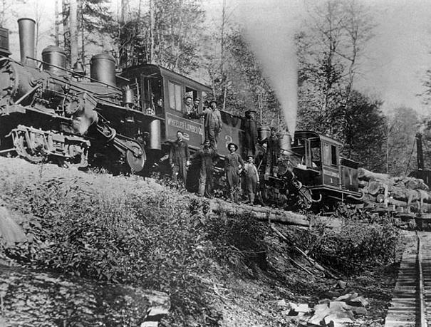 Maryland Logging Railroads
