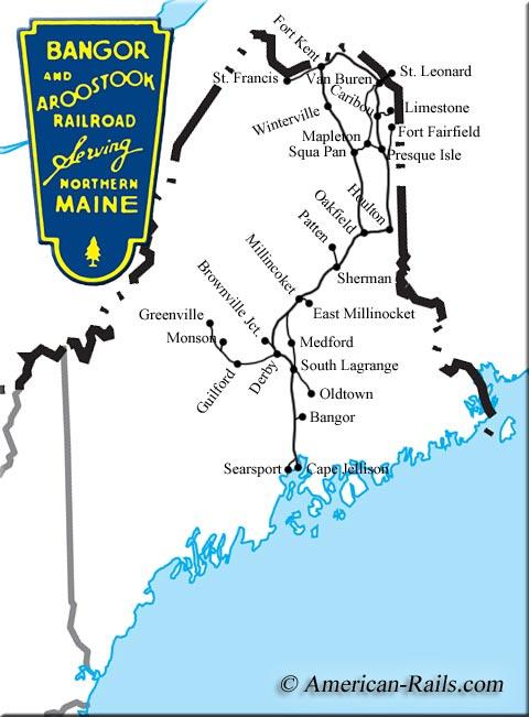 The Bangor And Aroostook Railroad