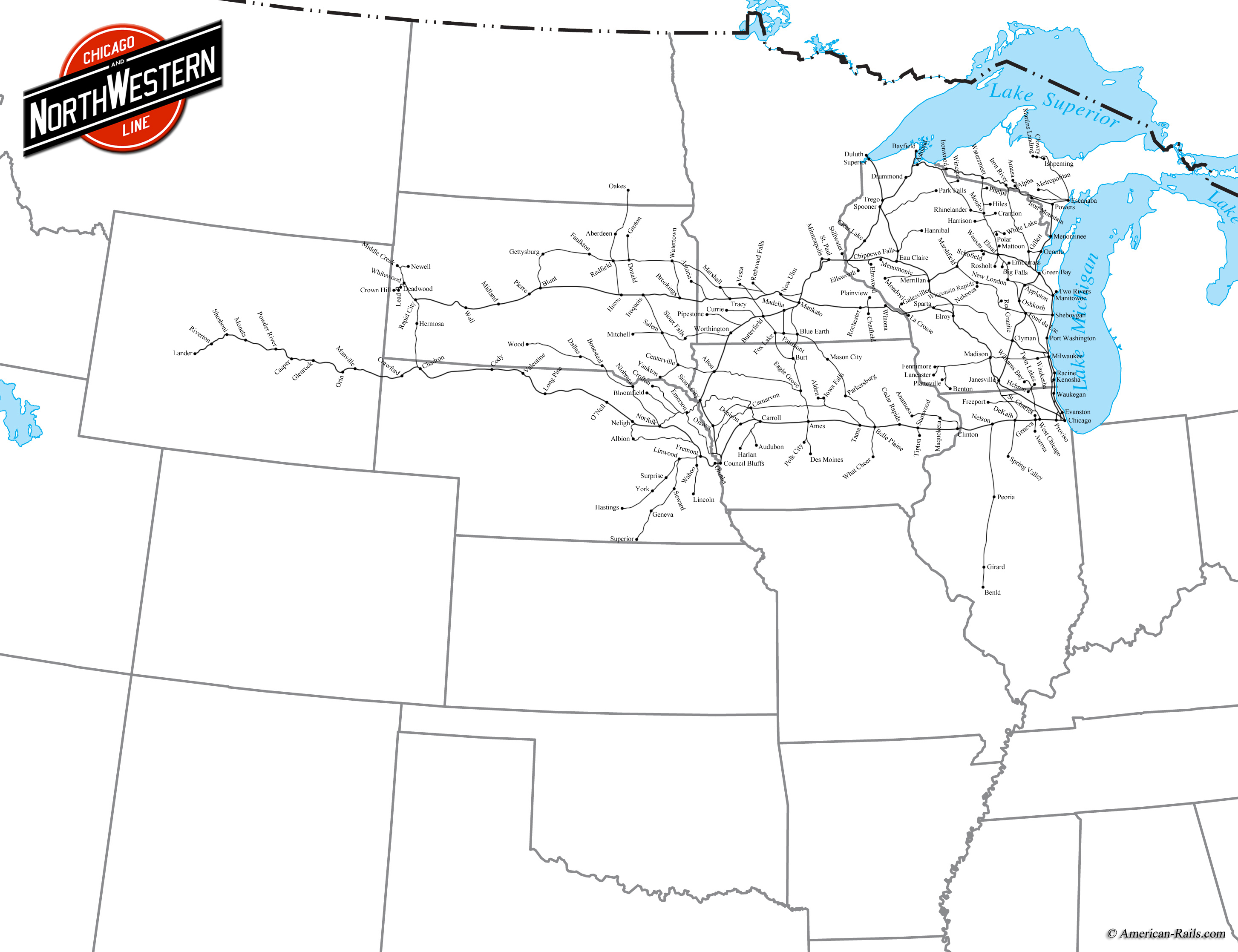 The Chicago and North Western Railway