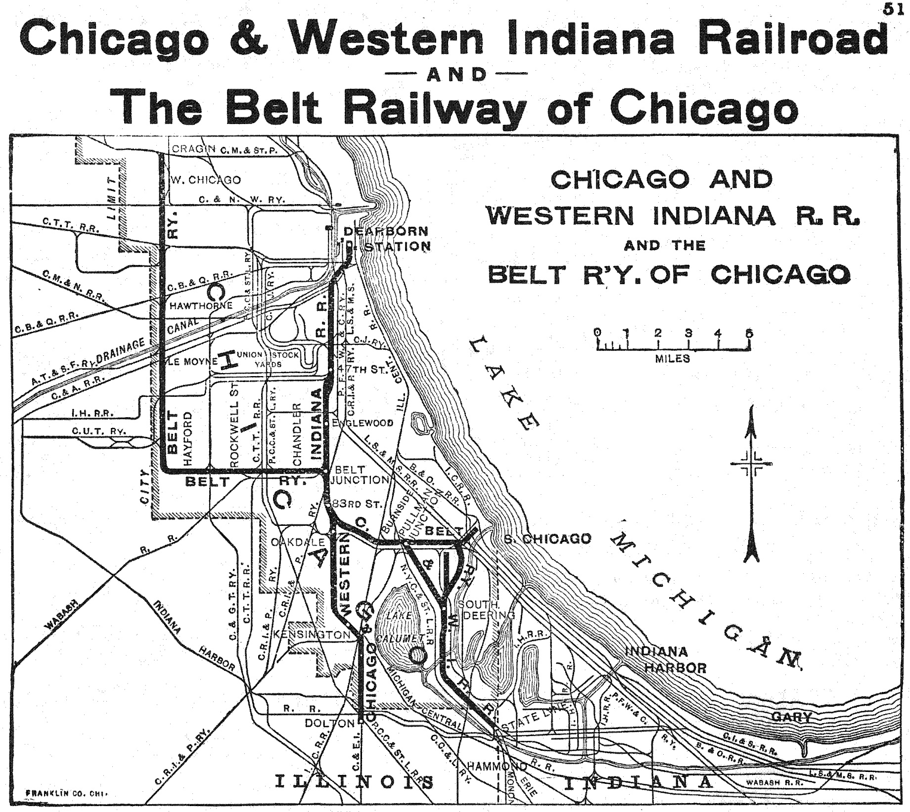 The Chicago And Western Indiana Railroad