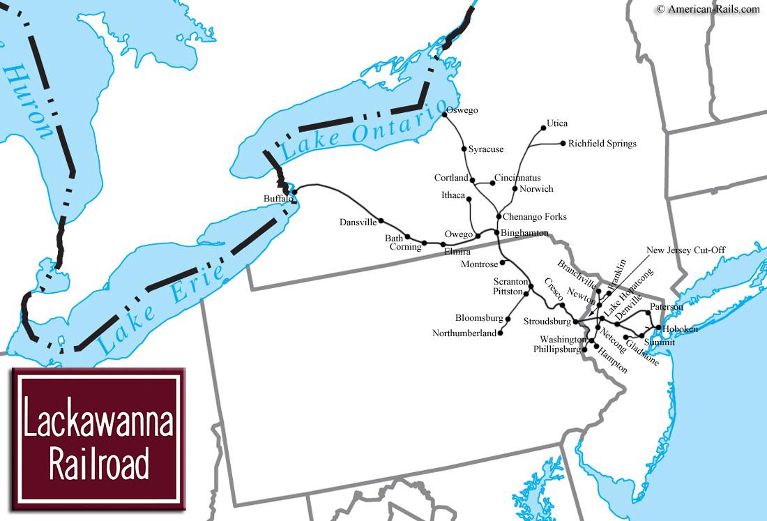 Notable Lackawanna Passenger Trains