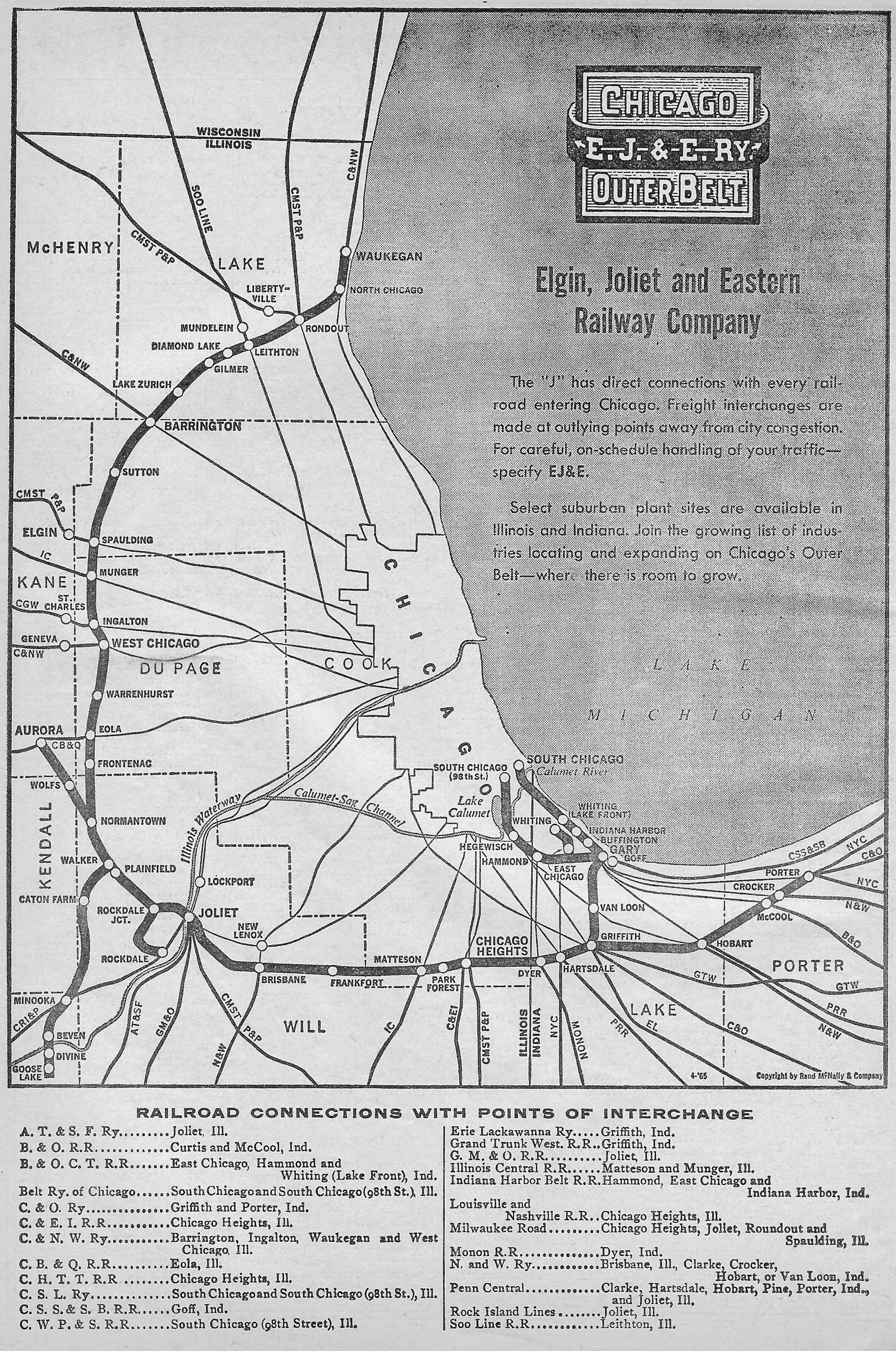 The Elgin Joliet and Eastern Railway