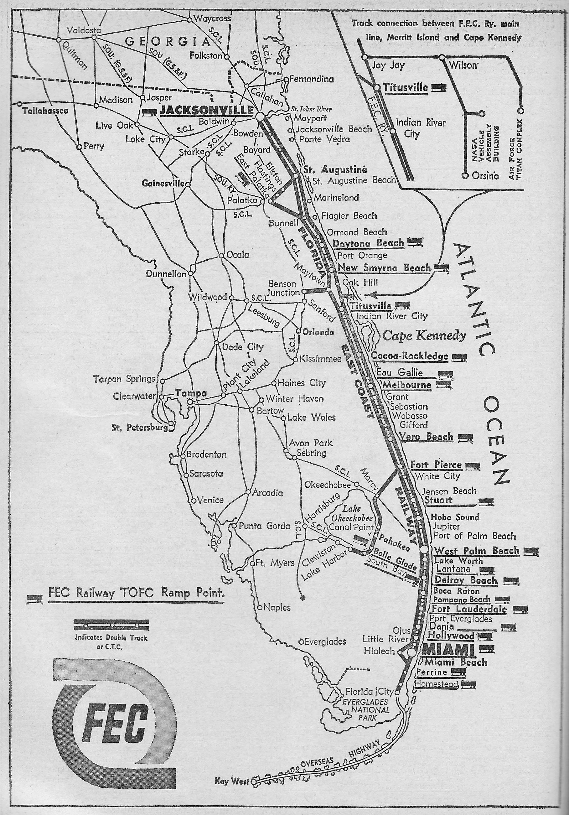 Building The Florida East Coast Railway