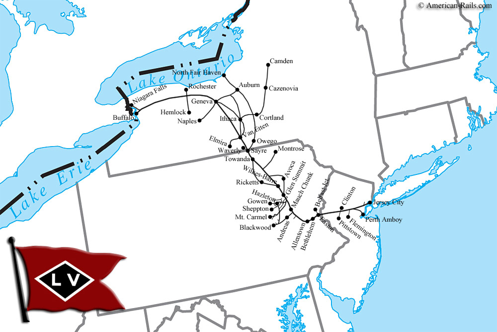 The Lehigh Valley Railroad