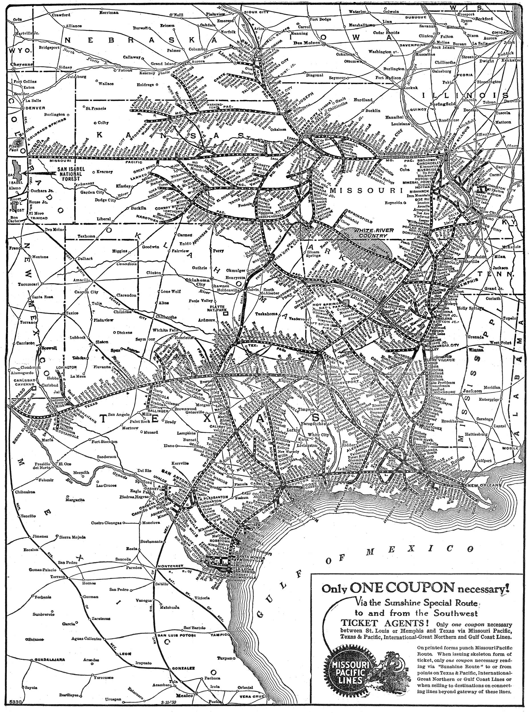 The Missouri Pacific Railroad The MoPac