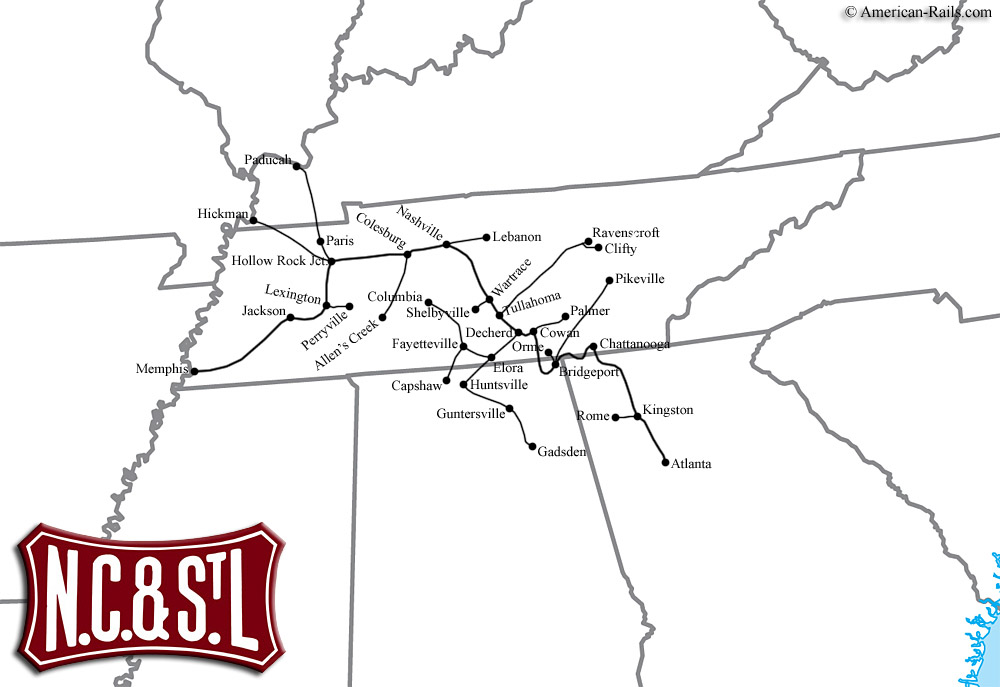 The Nashville Chattanooga and St Louis Railway