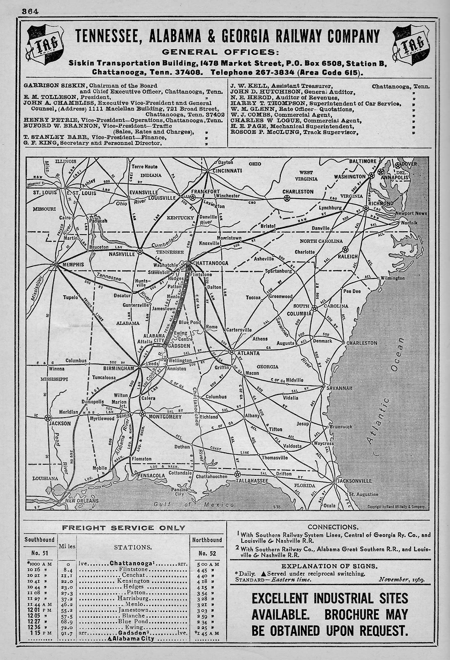 Tennessee, Alabama And Georgia Railway