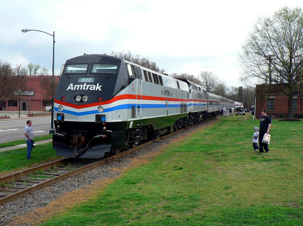 Train Rides In NC, Amtrak