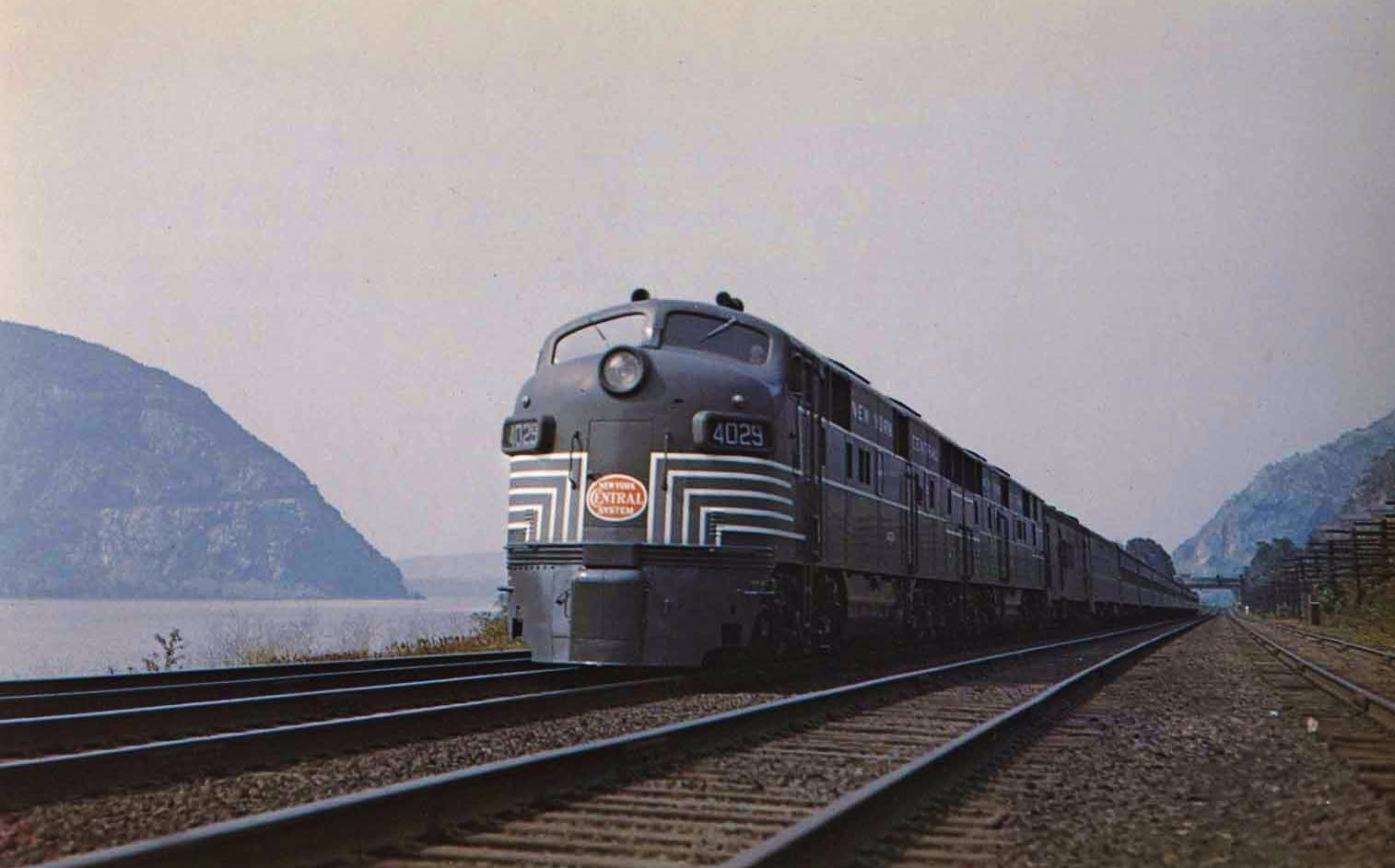 New York Central photo Train Railroad 20th Century Limited Observation Car