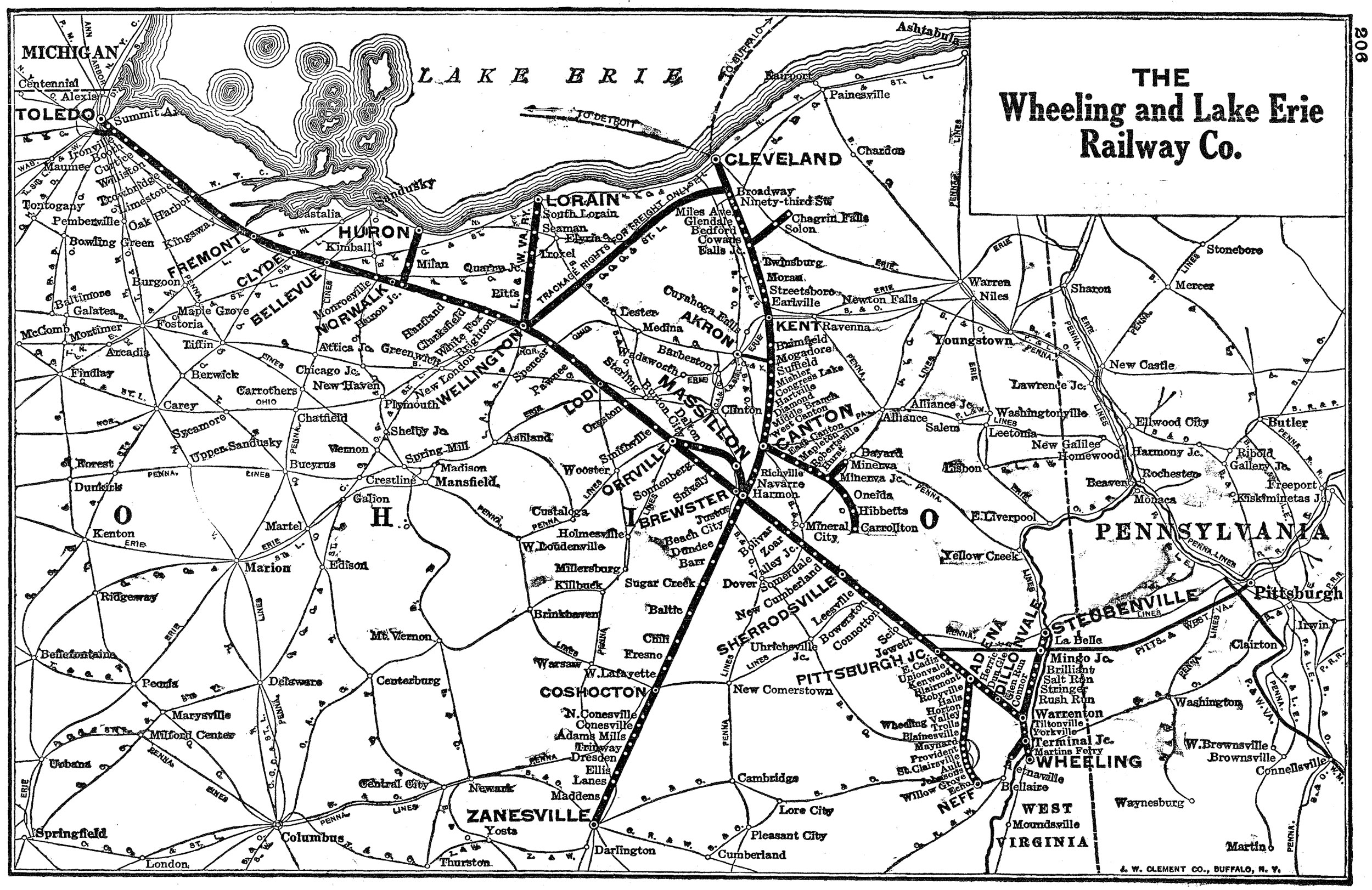The Wheeling and Lake Erie Railway