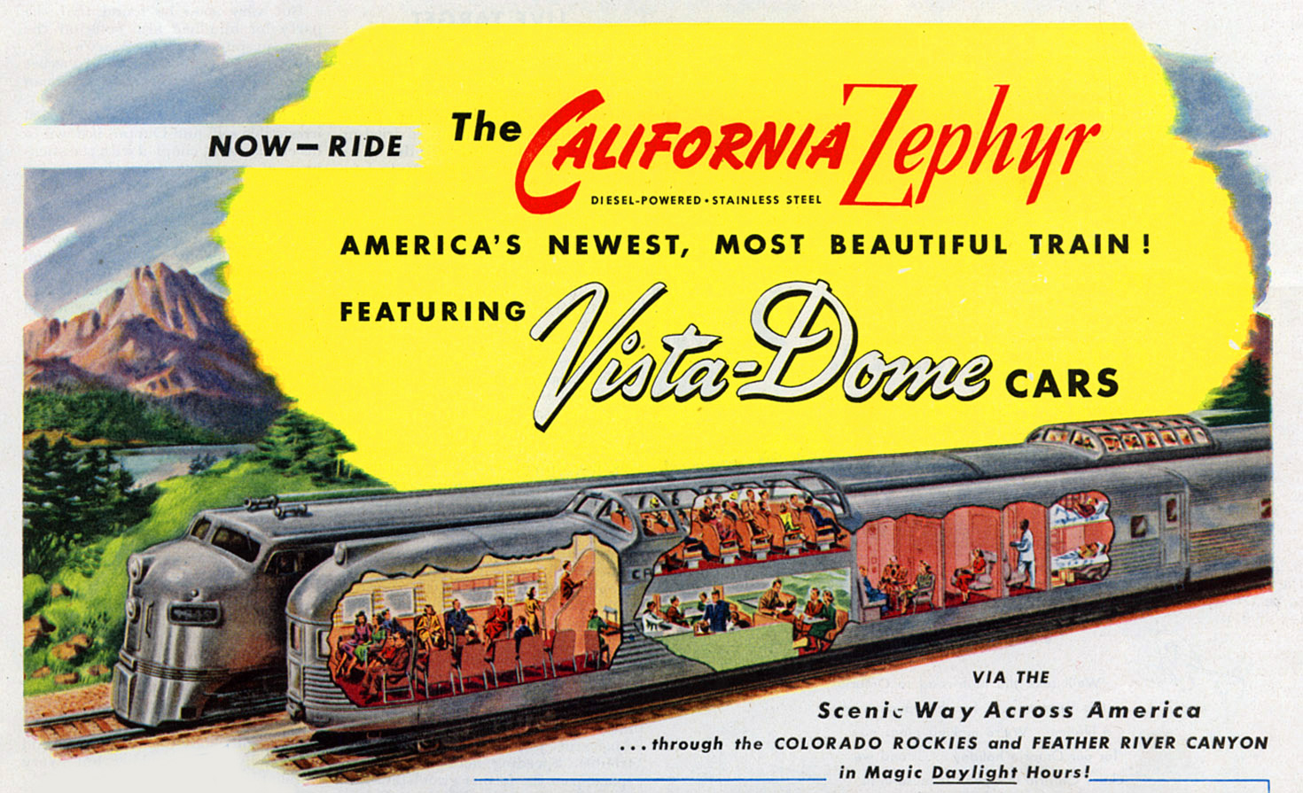 the legendary california zephyr