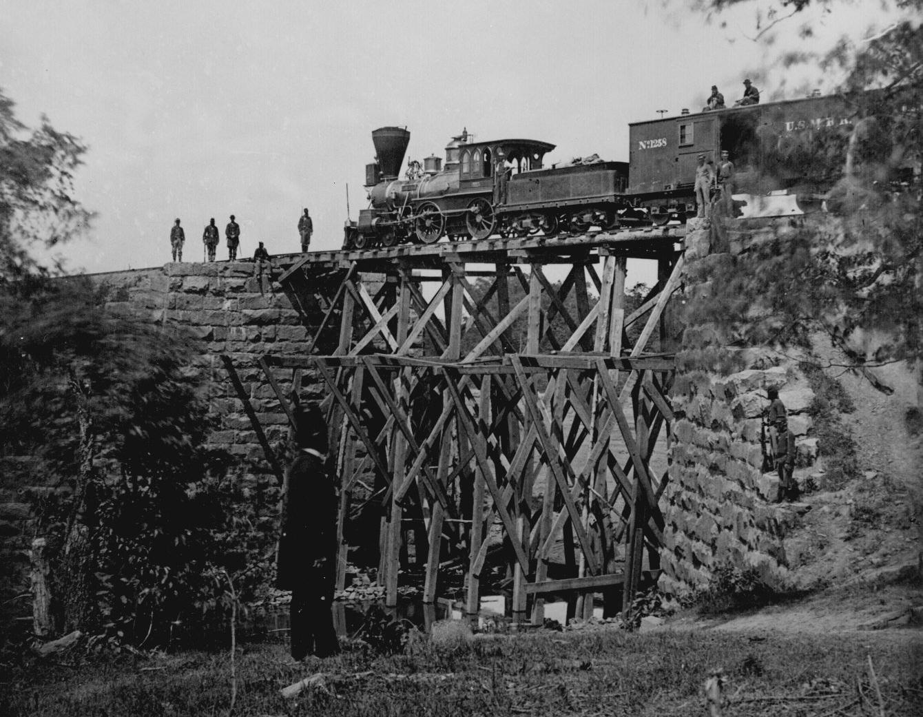 Railroads In The Civil War