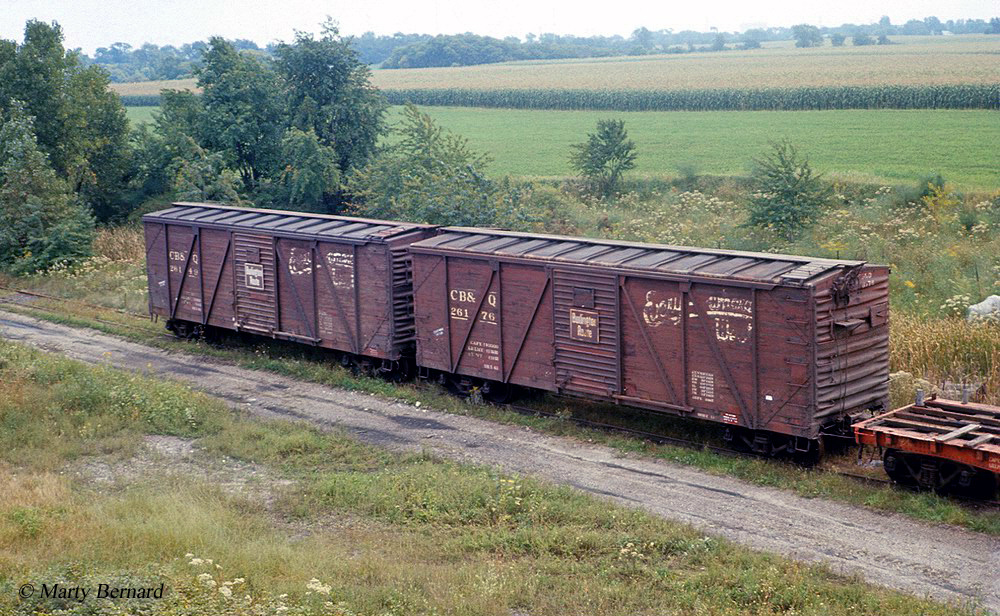 Wooden Rail Cars ~ Railroad boxcars