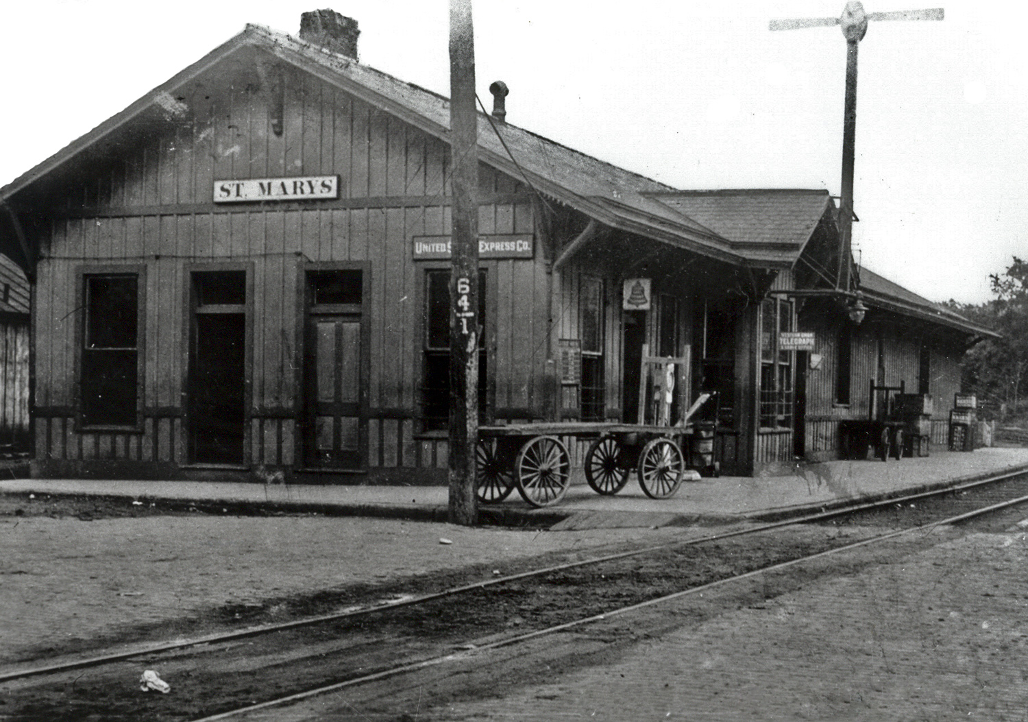 Railroad Train Stations And Depots